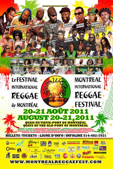 Montreal Reggae Festival 2011