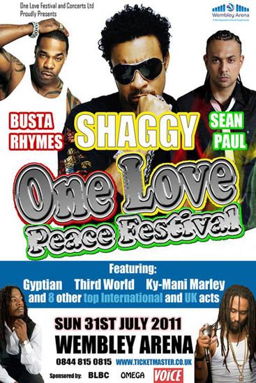 One Love Peace Festival 2011