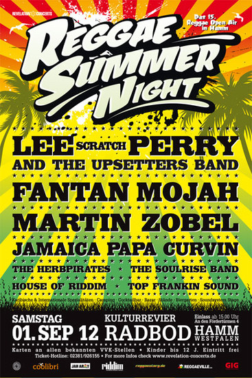 Reggae Summer Night 2012