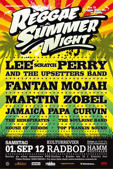 Reggae Summer Night 2012