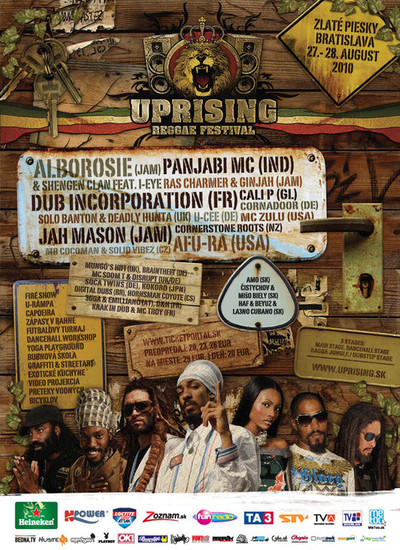 Uprising Reggae Festival 2010