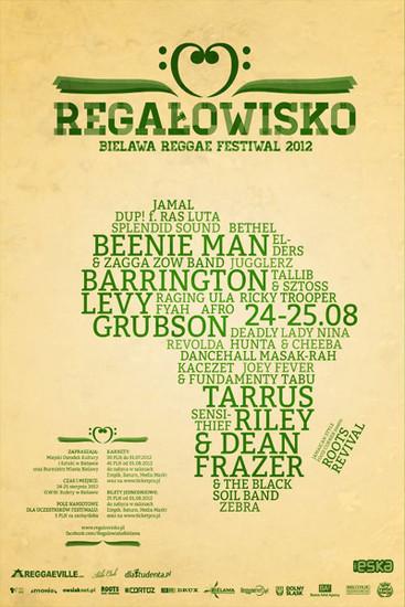 Regalowisko Bielawa Reggae Festival 2012