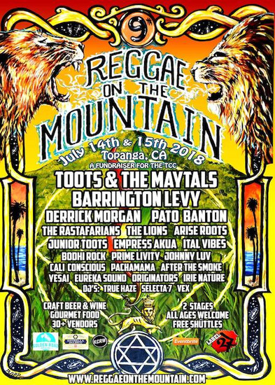 Reggae On The Mountain 2018