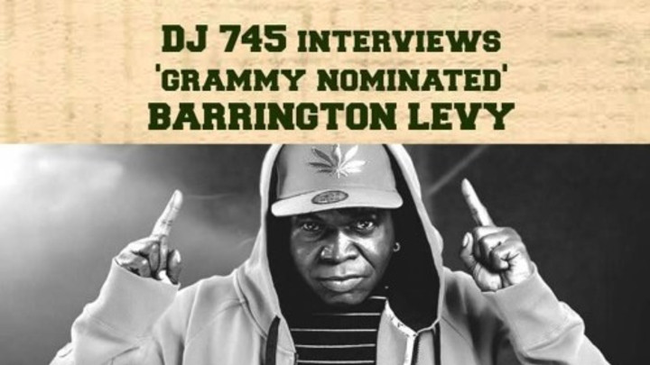 Interview with Barrington Levy @ Irie Jamms Radio [2/5/2016]