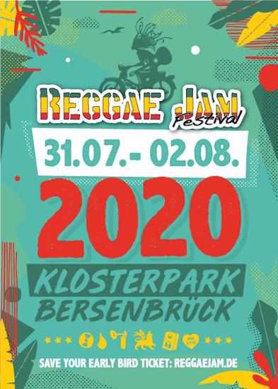 POSTPONED: Reggae Jam 2020