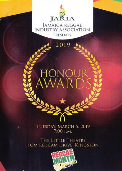 JARIA Honour Awards 2019