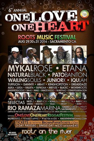 One Love One Heart Roots Music Festival 2014