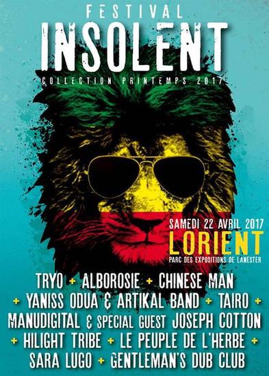 Festival Insolent - Collection Printemps 2017
