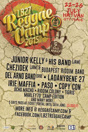 Reggae Camp 2015