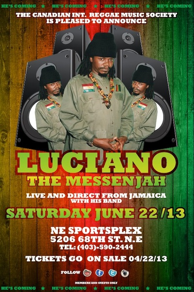Luciano Tour Dates