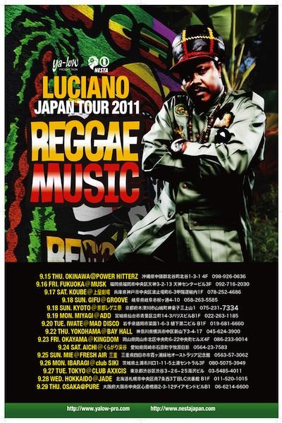 Luciano Reggae Tour