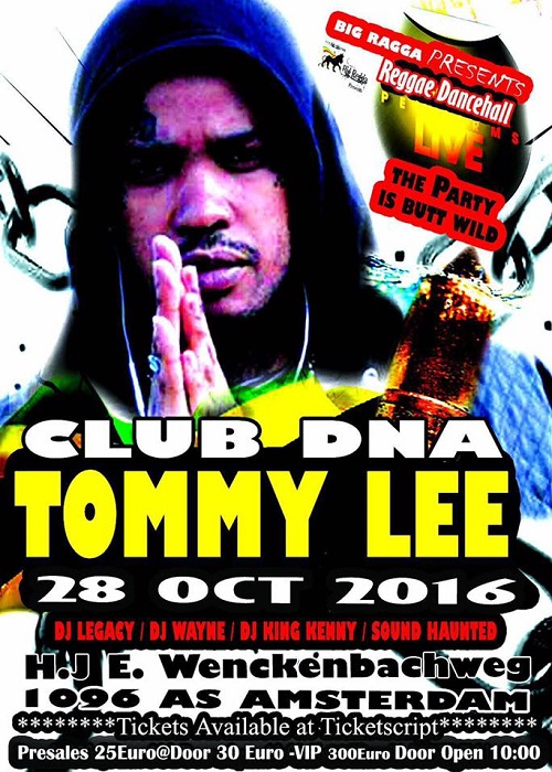 Tommy Lee Sparta 10/28/2016