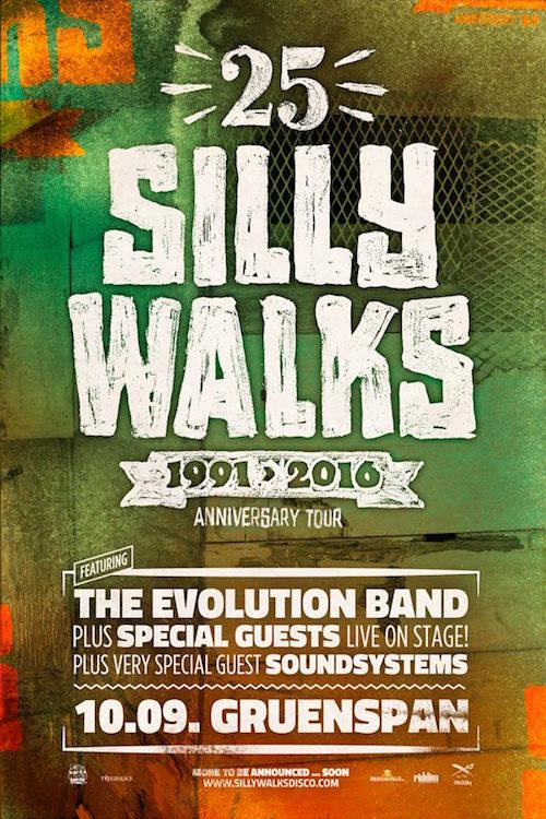 25 Years Silly Walks
