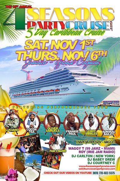 4 Seasons Party Cruise 2014