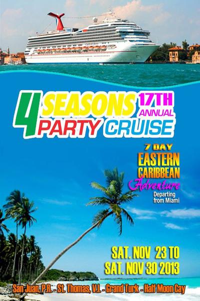 4 Seasons Party Cruise 2013