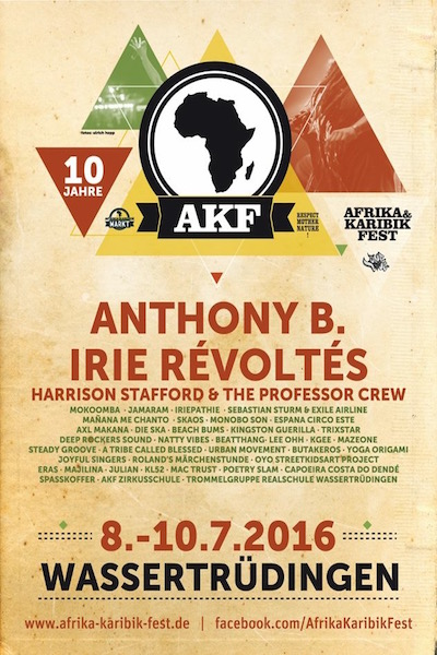 Afrika Karibik Fest 2016
