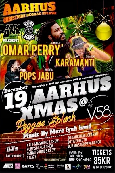Aarhus Christmas Reggae Splash 2015