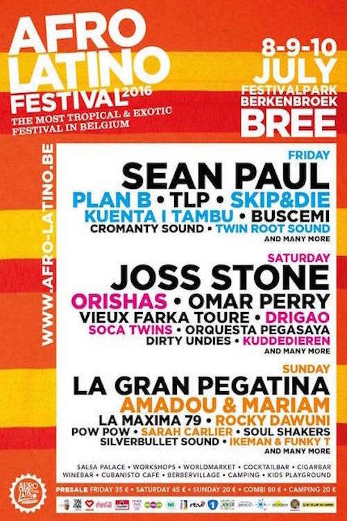 Afro Latino Festival 2016