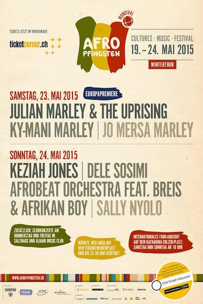 Afro Pfingsten 2015