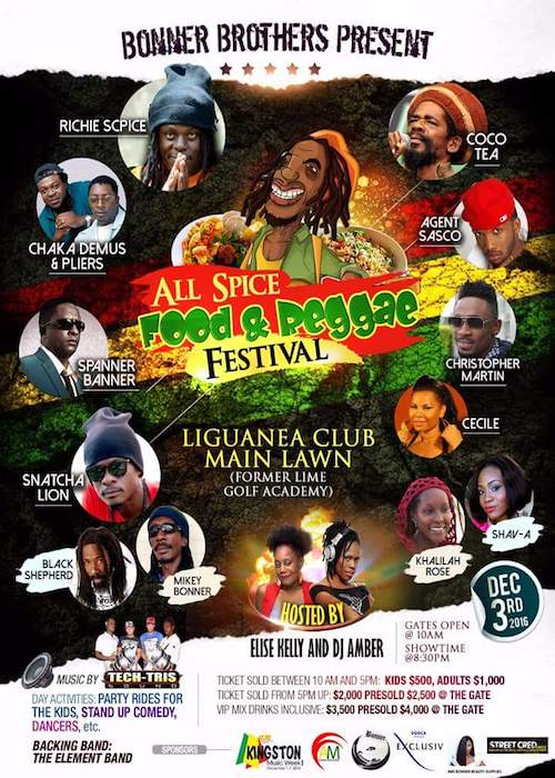 All Spice Food & Reggae Festival 2016