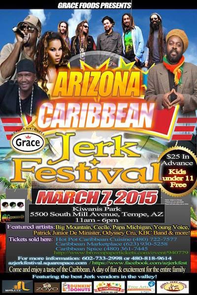 Arizona Caribbean Jerk Festival 2015