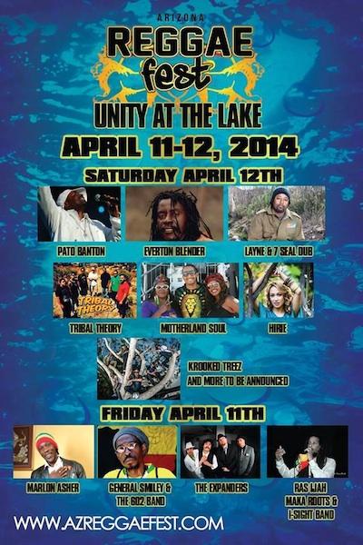 Arizona Reggae Festival 2014