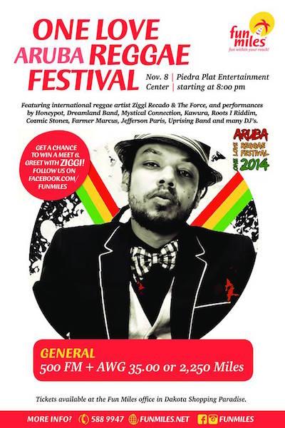 One Love Aruba Reggae Festival 2014