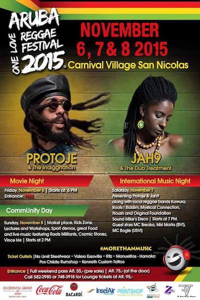 Aruba Reggae Festival 2015