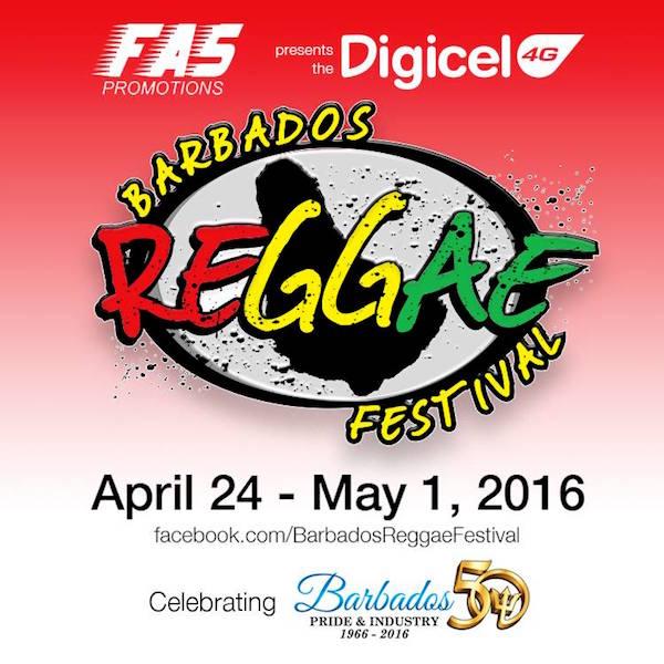 Barbados Reggae Beach Party 2016