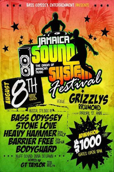 Jamaica Sound System Festival 2015