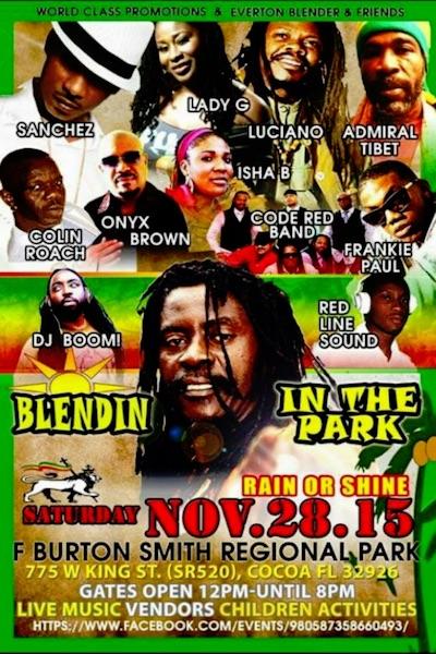 Blendin In The Park 2015