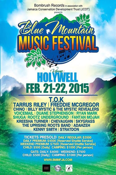 Blue Mountain Music Festival 2015
