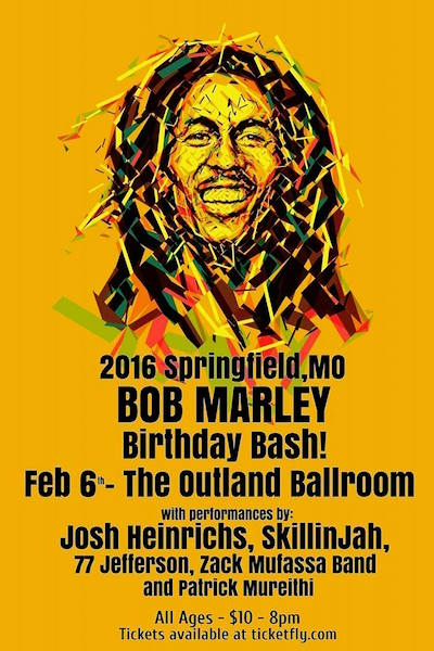 Bob Marley Birthday Bash 2016 - Springfield