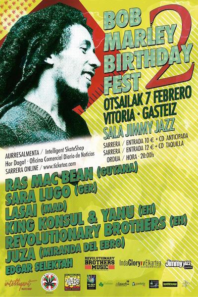 Bob Marley Birthday Fest 2015