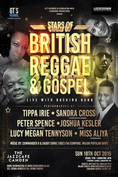 Stars Of British Reggae & Gospel