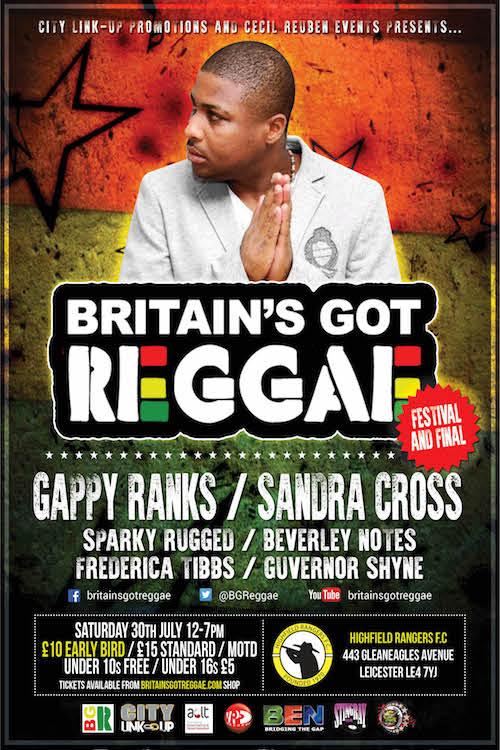Britain's Got Reggae 2016