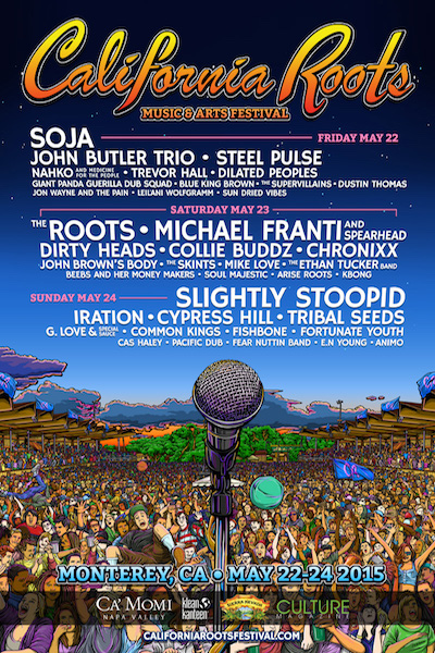 California Roots Festival 2015