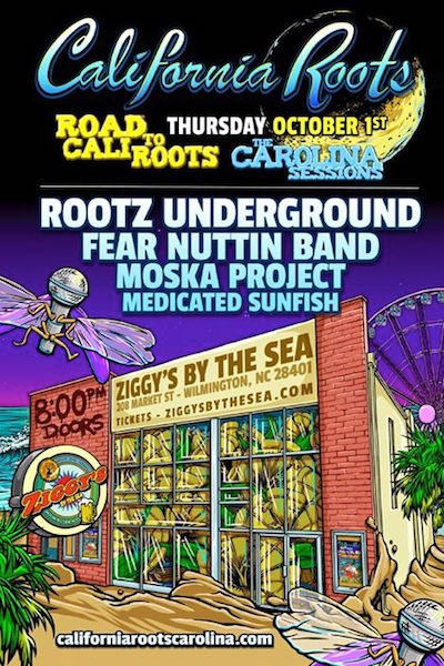 California Roots 2015 - The Carolina Sessions Pre Party #1