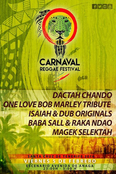 Carnaval Reggae Festival 2016