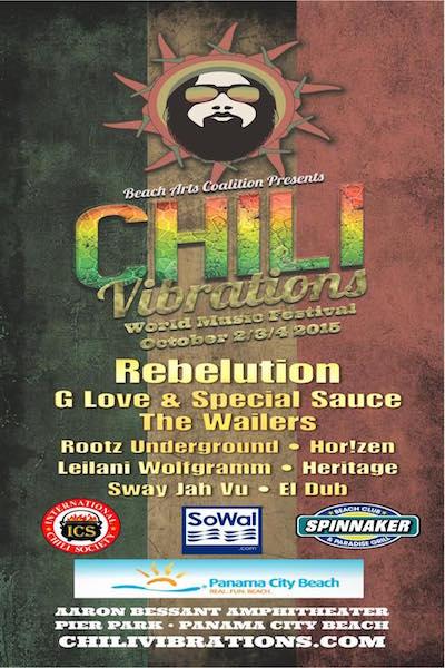 Chili Vibrations World Music Festival 2015