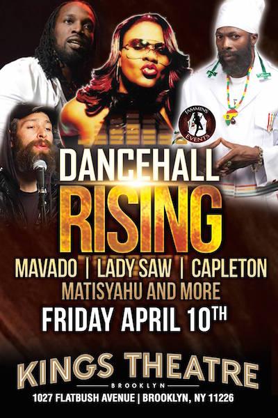 Dancehall Rising 2015