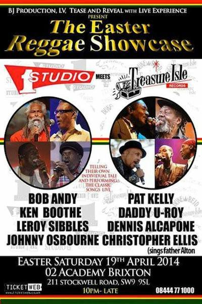 The Easter Reggae Showcase 2014