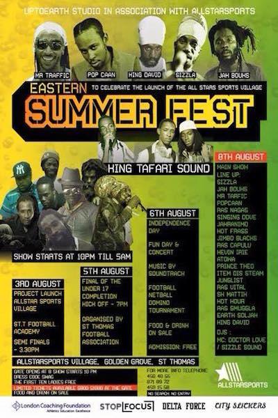 Eastern Summer Fest 2015