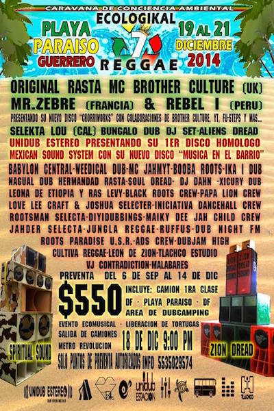 Ecologikal Reggae 2014