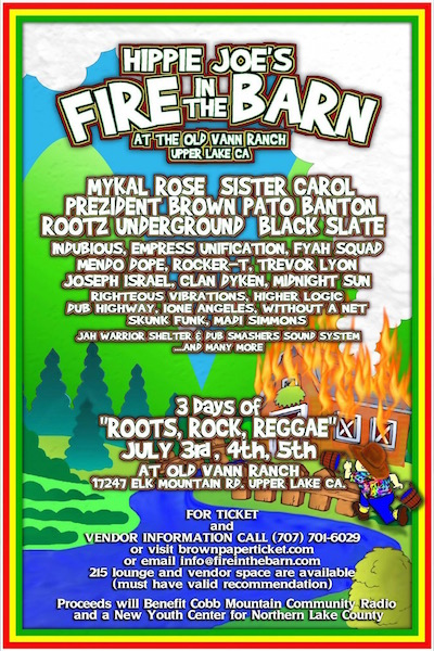 CANCELLED: Fire In The Barn 2015