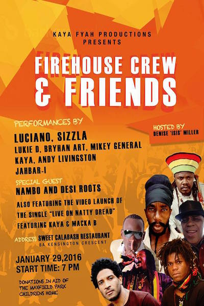Firehouse Crew & Friends 2016