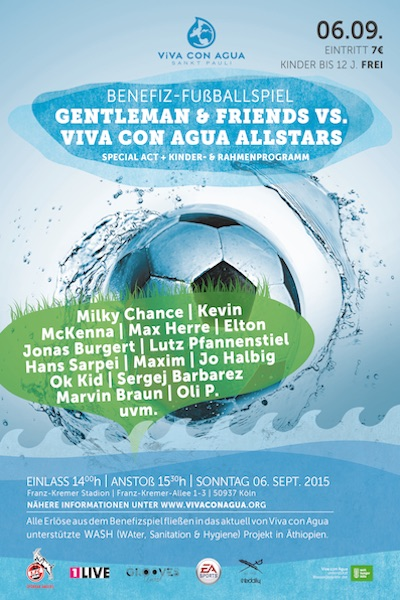 Gentleman & Friends vs. Viva Con Agua Allstars 2015
