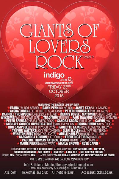 Giants Of Lovers Rock 2015