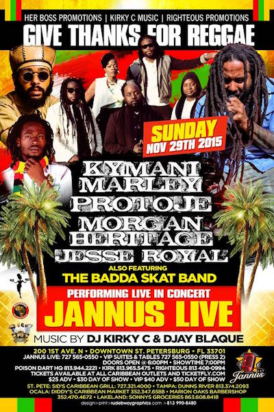 Cancelled: Give Thanks For Reggae 2015