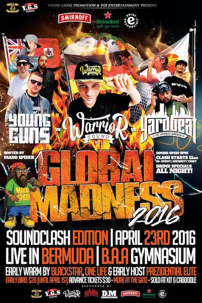 Global Madness Soundclash Edition 2016